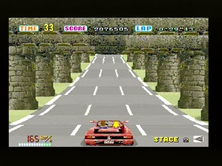 Sega's Out Run (from Sega Ages compilation) on Sega Saturn