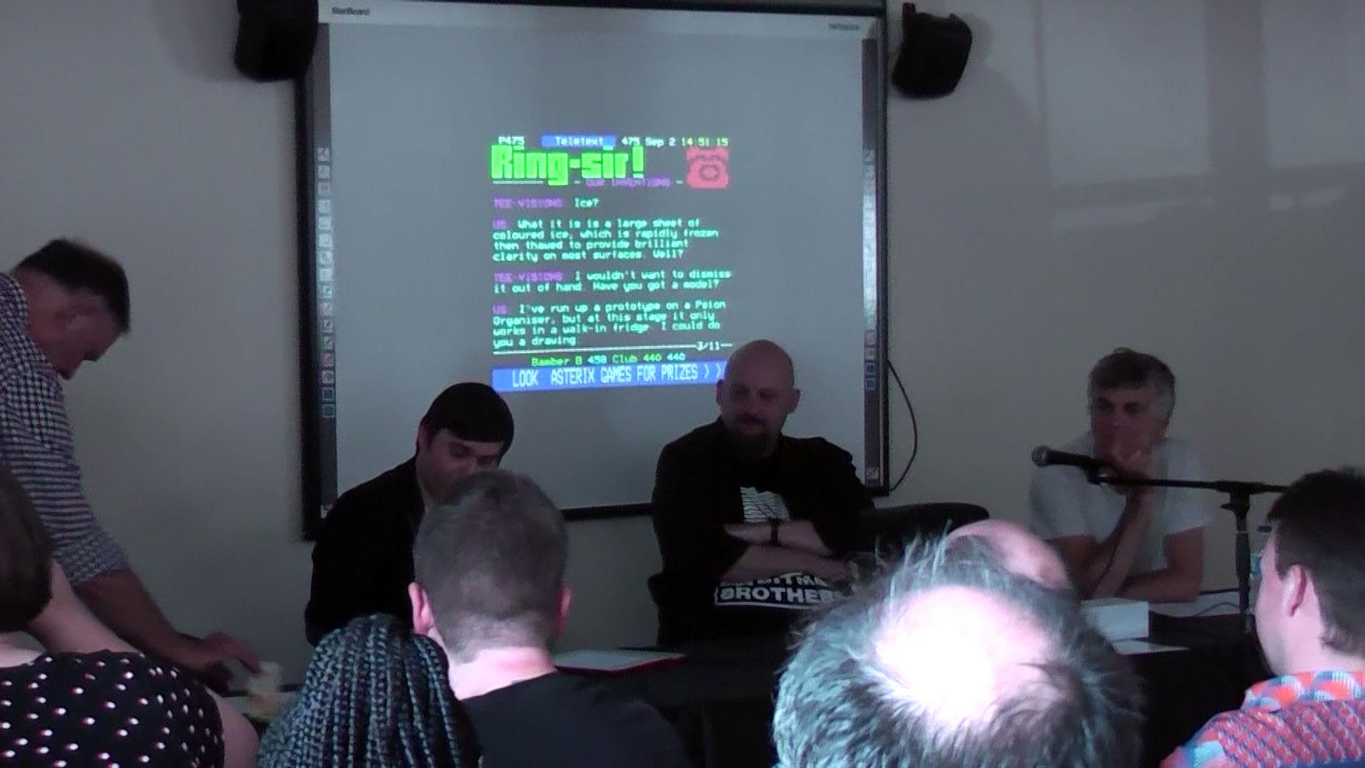 Chris Bell, Mentski and Tim Moore at Chunky Fringe