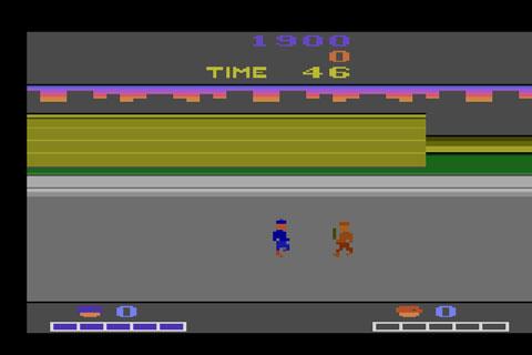 Double Dragon, Atari 2600